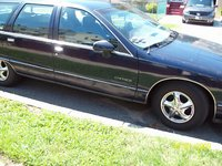 1992 Chevrolet Caprice Classic, Side profile, exterior