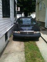1992 Chevrolet Caprice Classic, Front View, exterior