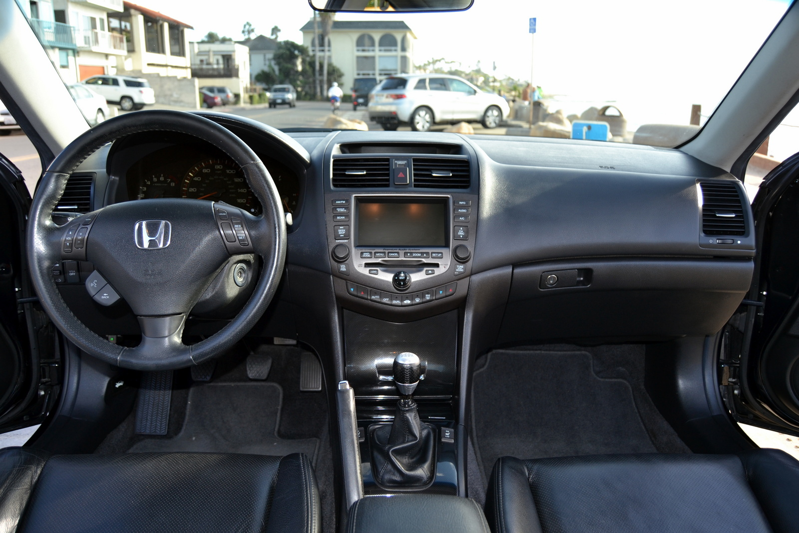 Honda Accord Coupe 2007 Interior Images & Pictures - Becuo