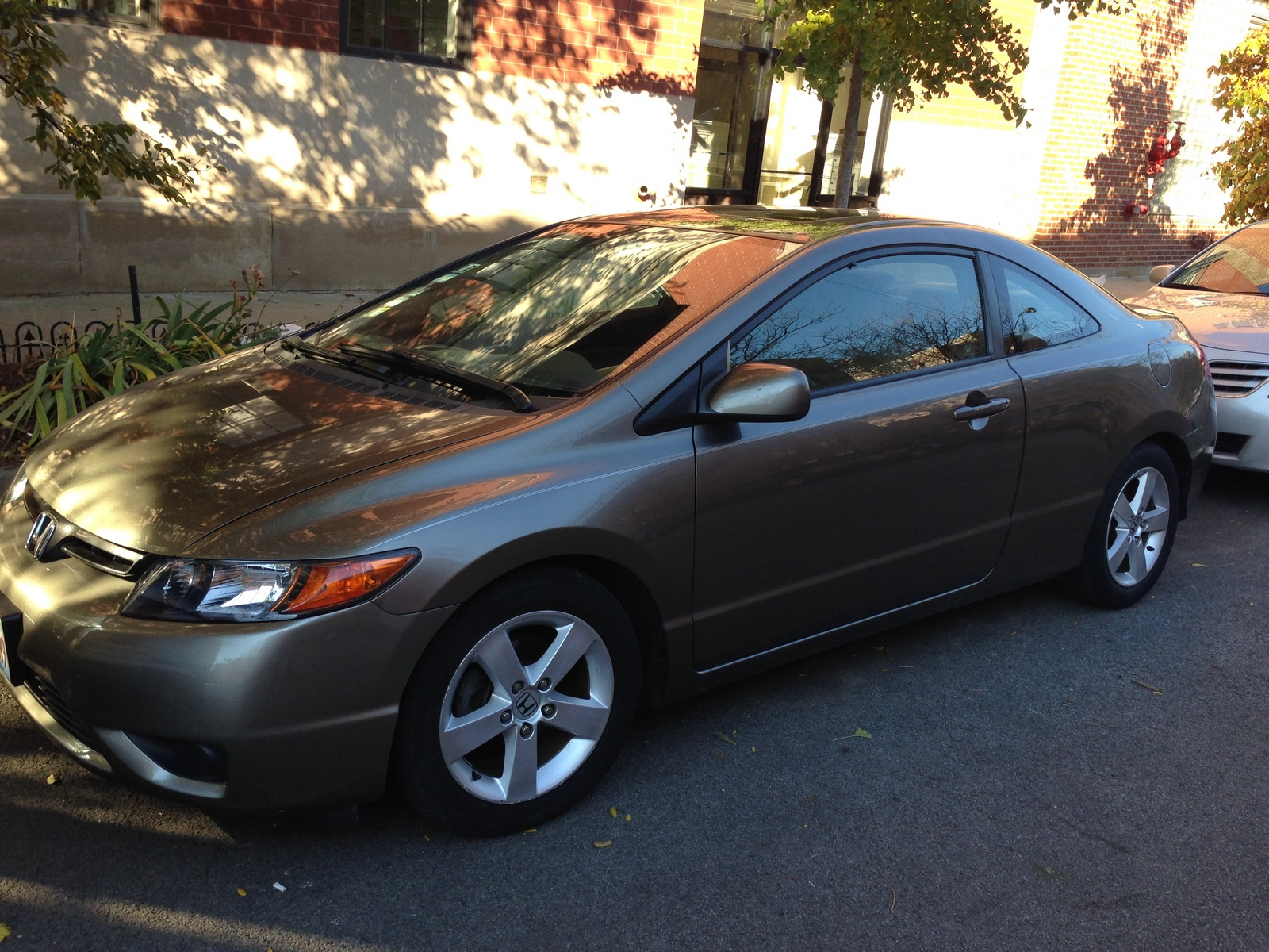 picture of 2007 honda civic coupe ex w nav exterior. Black Bedroom Furniture Sets. Home Design Ideas