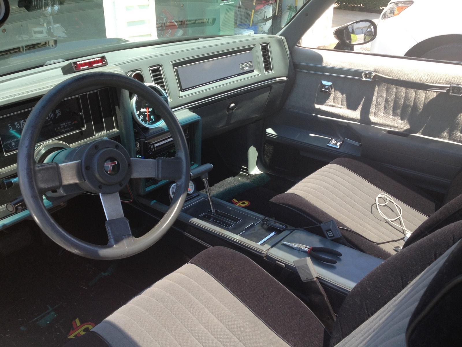 1987 buick regal interior pictures cargurus - 1987 buick grand national interior ...