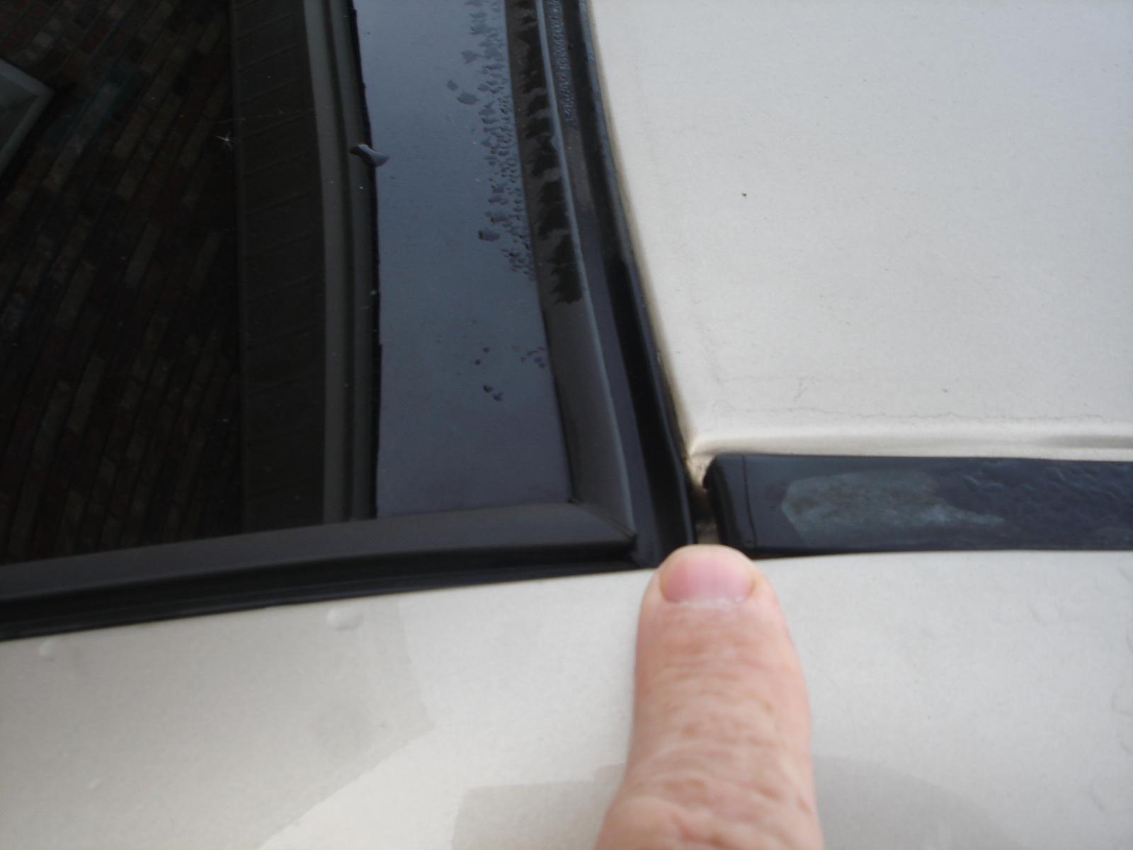 Toyota Corolla Water Leak Passenger Side