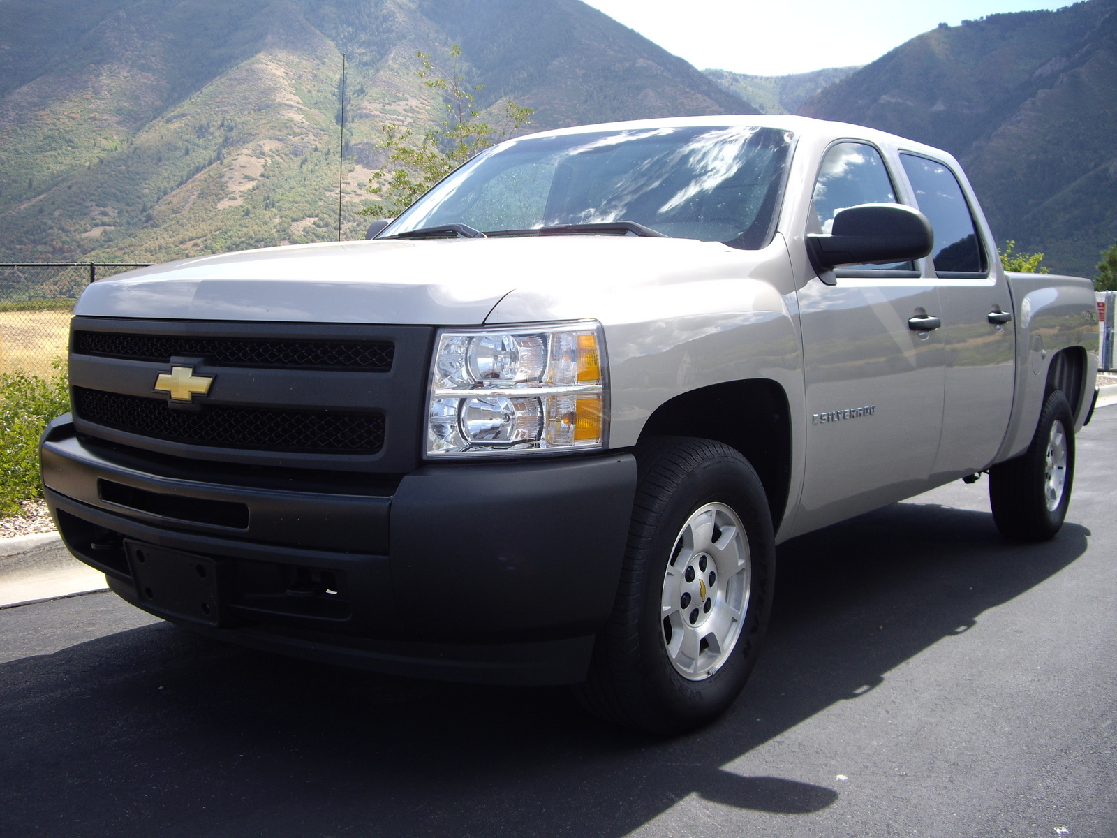 picture of 2009 chevrolet silverado 1500 ls crew cab 4wd exterior. Black Bedroom Furniture Sets. Home Design Ideas