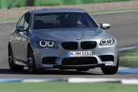 2014 BMW M5, Front-quarter view, exterior, manufacturer, gallery_worthy