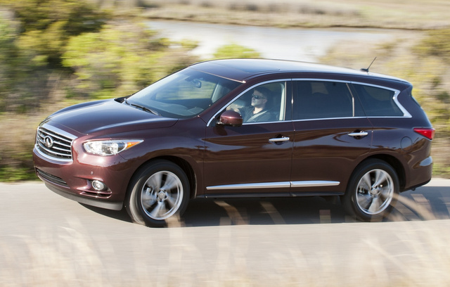 2014 INFINITI QX60, Front-quarter view, exterior, manufacturer, gallery_worthy