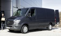 2014 Mercedes-Benz Sprinter, Front-quarter view, exterior, manufacturer, gallery_worthy