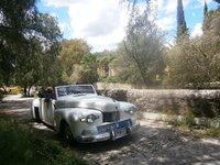 1942 Lincoln Continental Cabriolet en Guanajuato, Gto., Mèxico, exterior