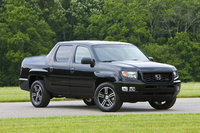 2014 Honda Ridgeline, Front-quarter/profile view, exterior, manufacturer