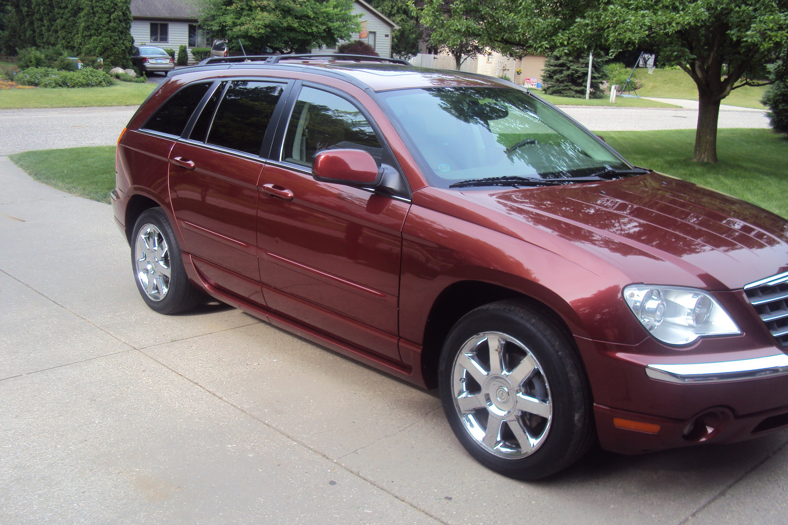 picture of 2007 chrysler pacifica 4 dr limited awd exterior. Cars Review. Best American Auto & Cars Review