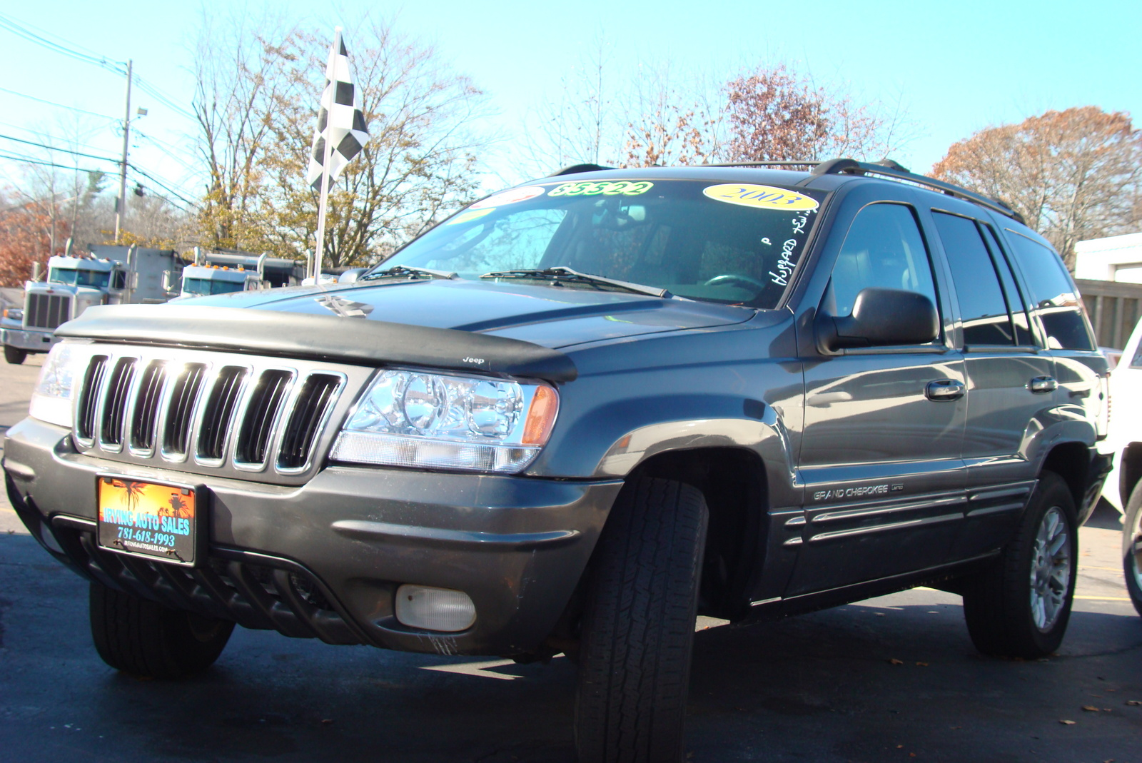 picture of 2003 jeep grand cherokee limited 4wd exterior. Cars Review. Best American Auto & Cars Review