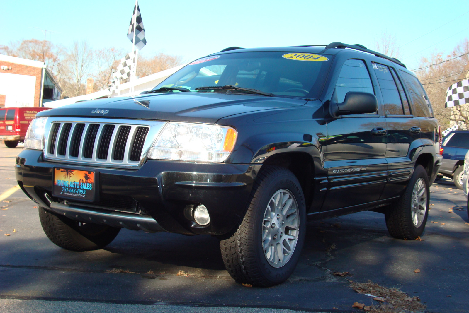 picture of 2004 jeep grand cherokee overland 4wd exterior. Cars Review. Best American Auto & Cars Review