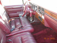 Picture of 1989 Lincoln Continental Base, interior