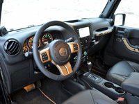 2014 Jeep Wrangler Unlimited Dragon Edition steering wheel, interior