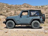 2014 Jeep Wrangler Sport, exterior