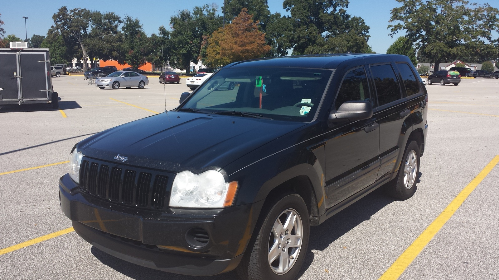 picture of 2005 jeep grand cherokee laredo exterior. Cars Review. Best American Auto & Cars Review
