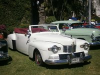 1942 Lincoln Continental Picture Gallery