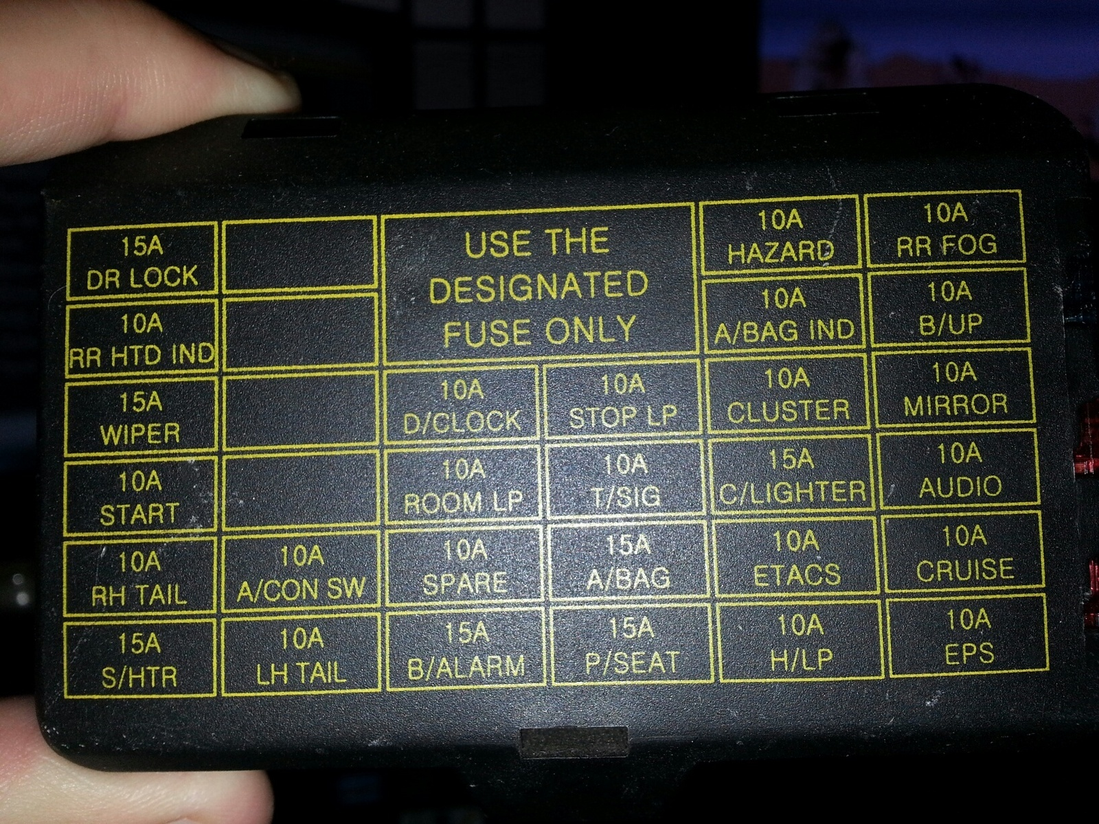 Pic X on 2004 Hyundai Sonata Fuse Box Diagram