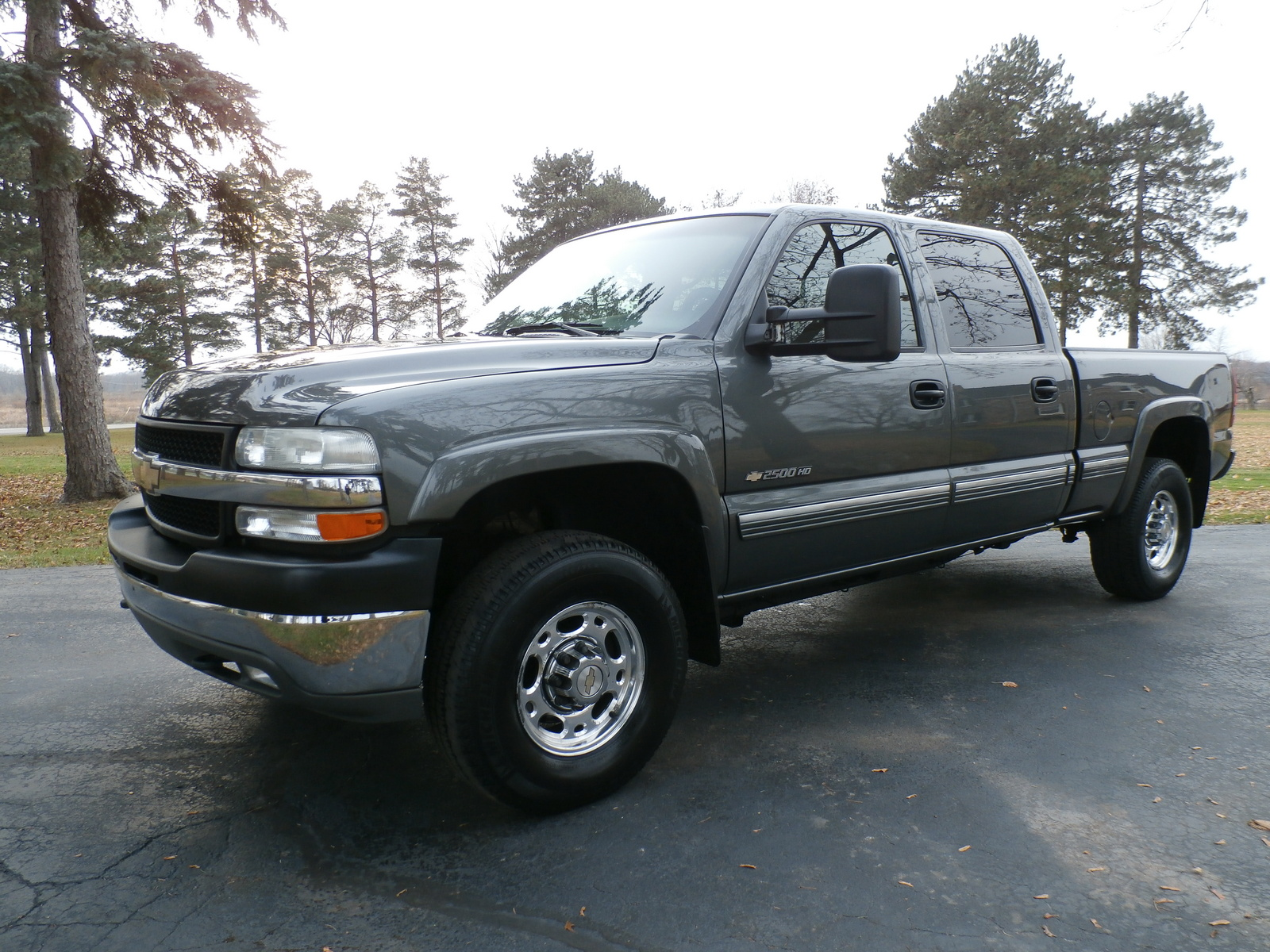 picture of 2002 chevrolet silverado 2500hd 4 dr ls 4wd crew cab sb hd. Black Bedroom Furniture Sets. Home Design Ideas