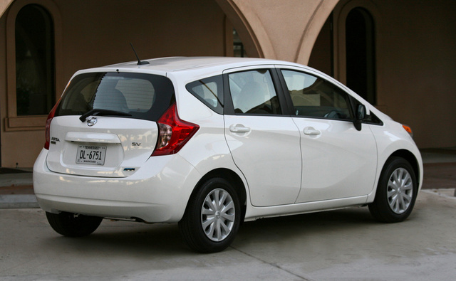Cost Effectiveness. 6/ 10. 2014 Nissan Versa Note