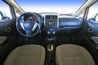 2014 Nissan Versa Note SV front seat, interior