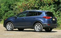 2013 Toyota RAV4 rear exterior, look_and_feel, exterior