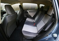 2013 Toyota RAV4 rear seat, safety, interior