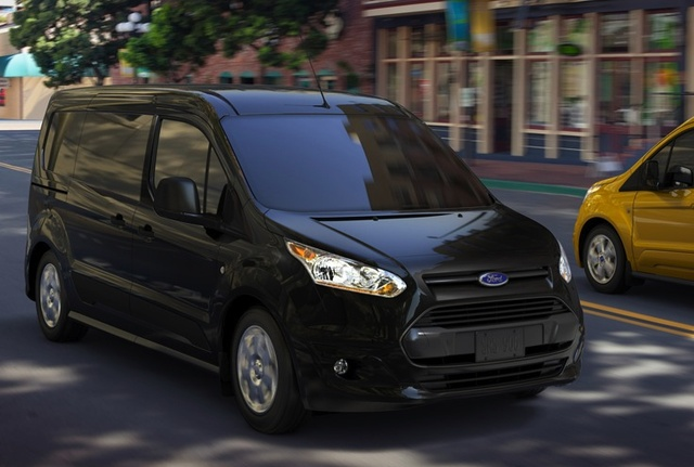 2014 Ford Transit Connect, Front-quarter view, exterior, manufacturer