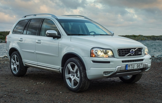 2014 Volvo XC90, Front-quarter view, exterior, manufacturer
