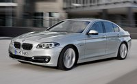 2014 BMW 5 Series, Front-quarter view, exterior, manufacturer