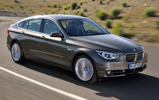 2014 BMW 5 Series Gran Turismo, Front-quarter view, exterior, manufacturer, gallery_worthy