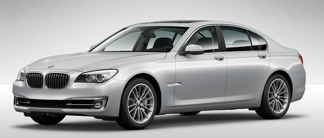2014 BMW 7 Series, Front-quarter view, exterior, manufacturer