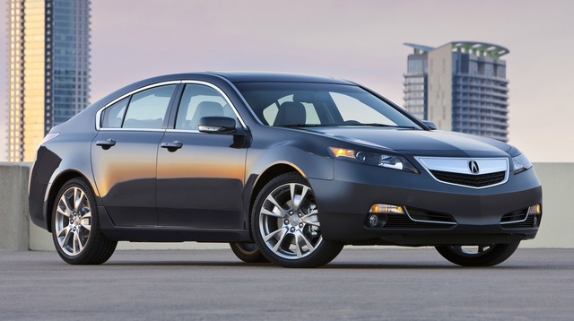 2014 Acura TL, Front-quarter view, exterior, manufacturer, gallery_worthy