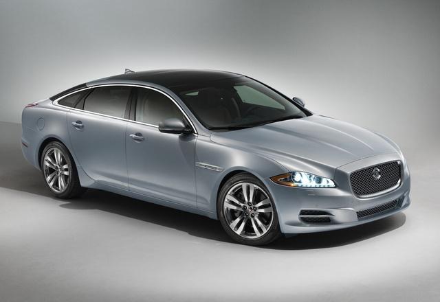 2014 Jaguar XJ-Series, Front-quarter view, exterior, manufacturer, gallery_worthy