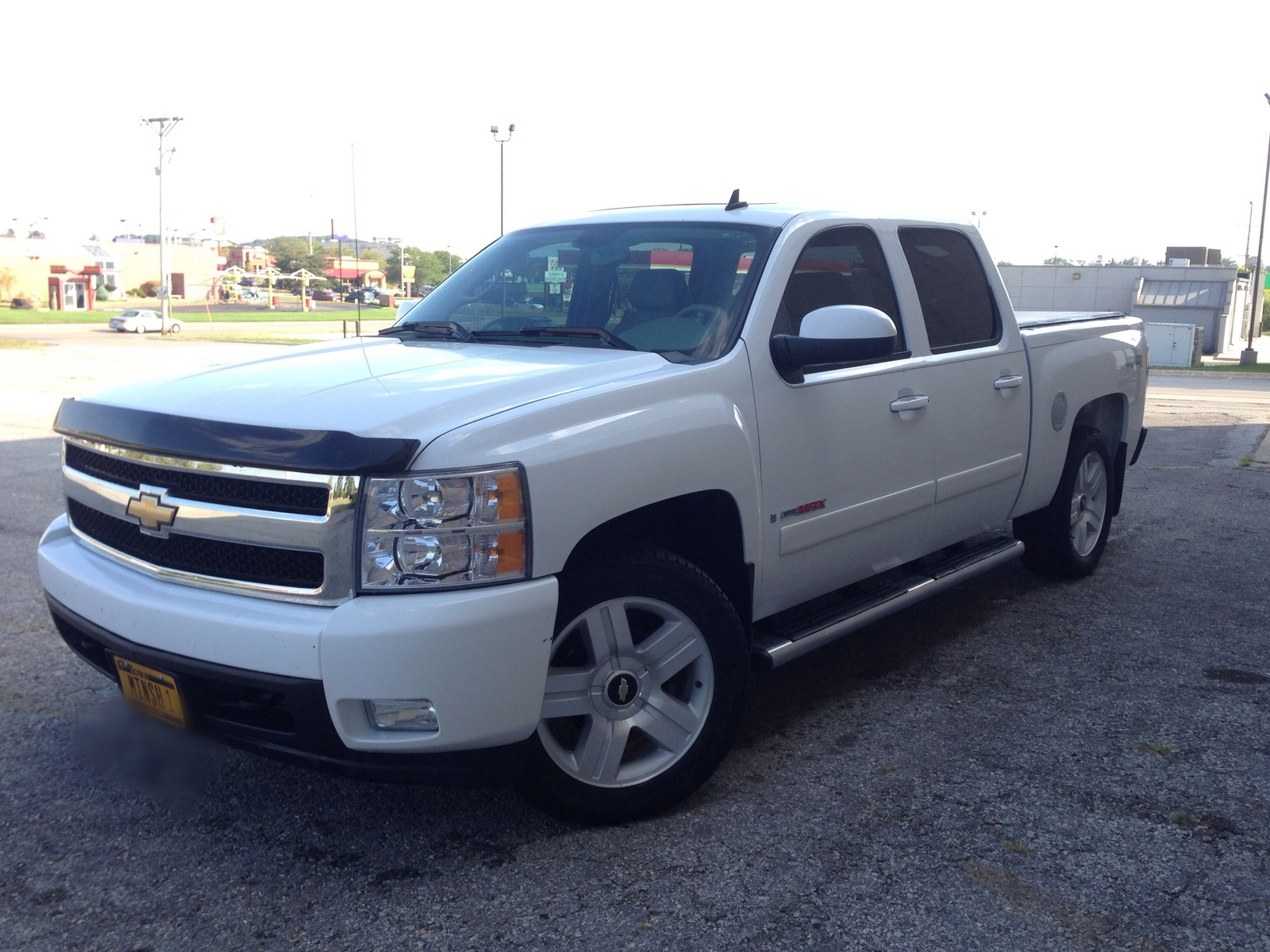 picture of 2007 chevrolet silverado 1500 ltz crew cab 4wd exterior. Cars Review. Best American Auto & Cars Review