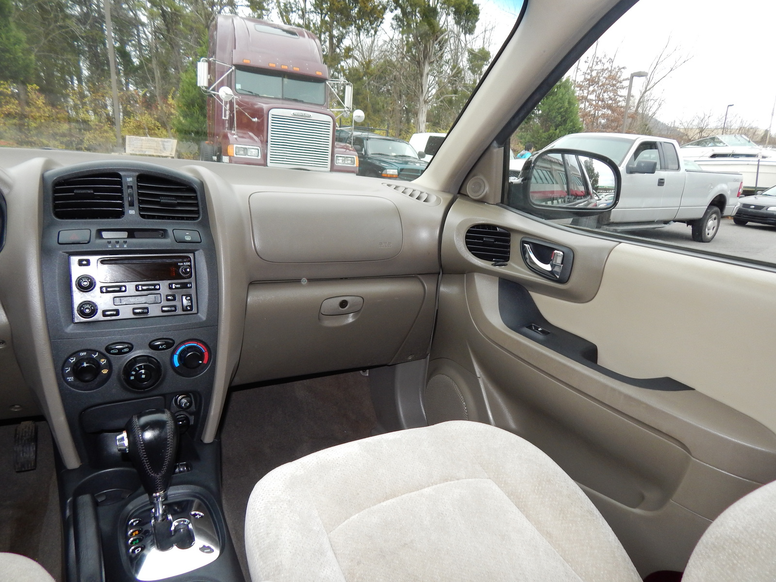 2005 hyundai santa fe interior car interior design