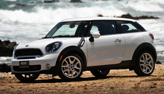 2014 MINI Cooper Paceman, Front-quarter view, exterior, manufacturer, gallery_worthy