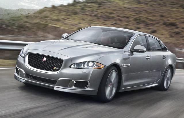 2014 Jaguar XJR, Front-quarter view, exterior, manufacturer, gallery_worthy