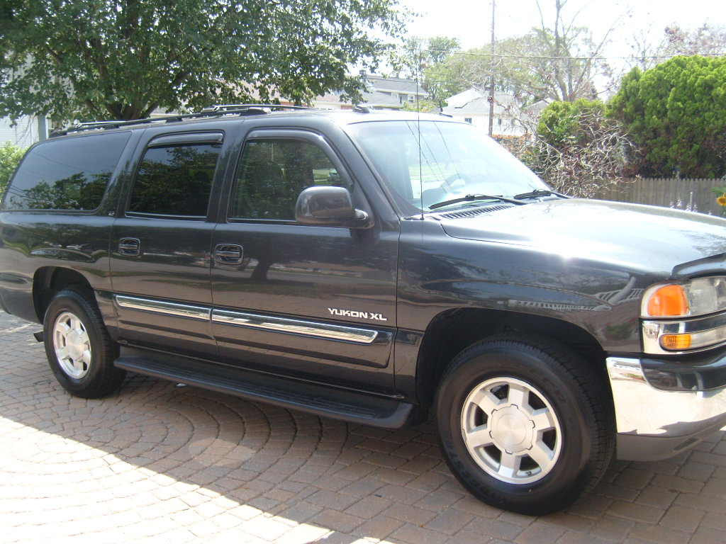 picture of 2004 gmc yukon xl 4 dr 1500 slt 4wd suv exterior. Black Bedroom Furniture Sets. Home Design Ideas