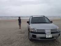 2005 Mitsubishi Endeavor LS AWD, Lovely Daytona sandy beaches, exterior, gallery_worthy