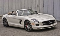 2014 Mercedes-Benz SLS-Class, Front-quarter view, exterior, manufacturer