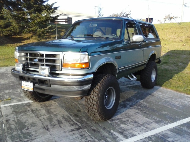 1996 Ford Bronco XLT 4WD, The beast., exterior, gallery_worthy