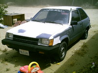 1986 Toyota Tercel, my car during a sand storm., exterior
