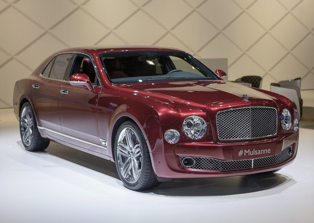 2014 Bentley Mulsanne, Front-quarter view, exterior, manufacturer
