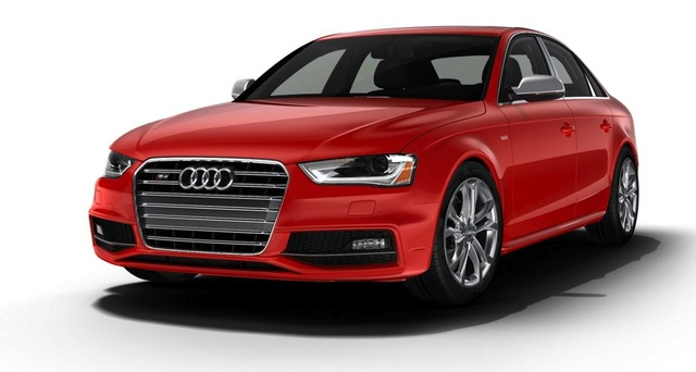 2014 Audi S4, Front-quarter view, exterior, manufacturer, gallery_worthy