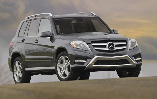 2014 Mercedes Benz GLK Class, Front Quarter View, Exterior, Manufacturer
