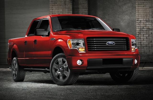 2014 Ford F-150, Front-quarter view, exterior, manufacturer