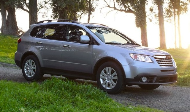 2014 Subaru Tribeca, Front-quarter view, exterior, manufacturer, gallery_worthy