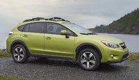 2014 Subaru XV Crosstrek Hybrid, Front-quarter view, exterior, manufacturer, gallery_worthy