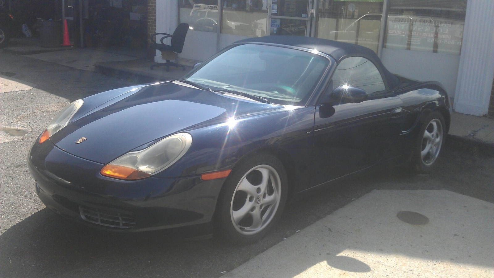 picture of 1999 porsche boxster base exterior. Black Bedroom Furniture Sets. Home Design Ideas