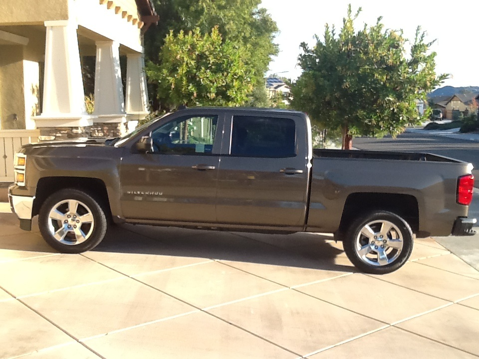 picture of 2014 chevrolet silverado 1500 lt crew cab 5 8 ft exterior. Cars Review. Best American Auto & Cars Review